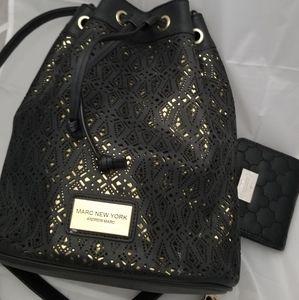 Andrew Marc backpack & Nanette Lepore wallet